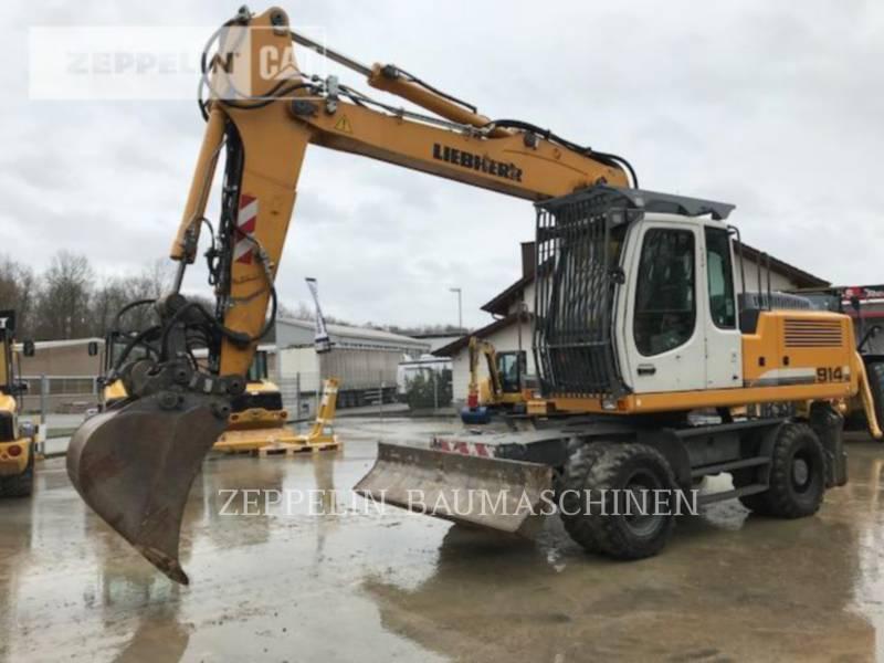 LIEBHERR PELLES SUR PNEUS A914CLIT equipment  photo 1
