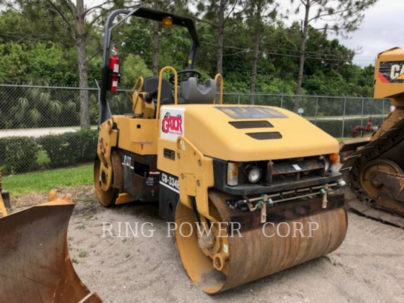 CATERPILLAR COMPACTEURS TANDEMS VIBRANTS CB334E equipment  photo 2