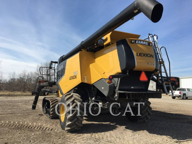 CLAAS OF AMERICA COMBINADOS LEX740TT equipment  photo 4