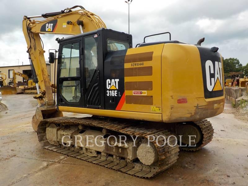 CATERPILLAR トラック油圧ショベル 316E L equipment  photo 7