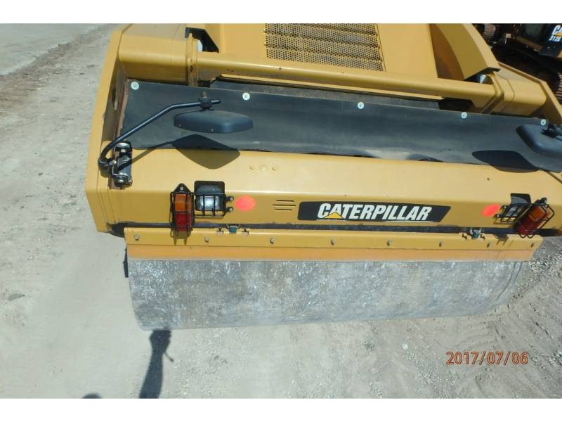 CATERPILLAR TANDEMOWY WALEC WIBRACYJNY DO ASFALTU (STAL-STAL) CB64 equipment  photo 6