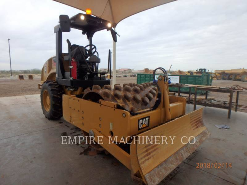 CATERPILLAR COMPACTEUR VIBRANT, MONOCYLINDRE À PIEDS DAMEURS CP44B equipment  photo 1