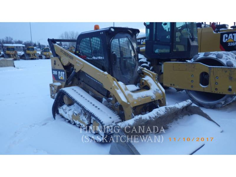 CATERPILLAR UNIWERSALNE ŁADOWARKI 289D equipment  photo 4