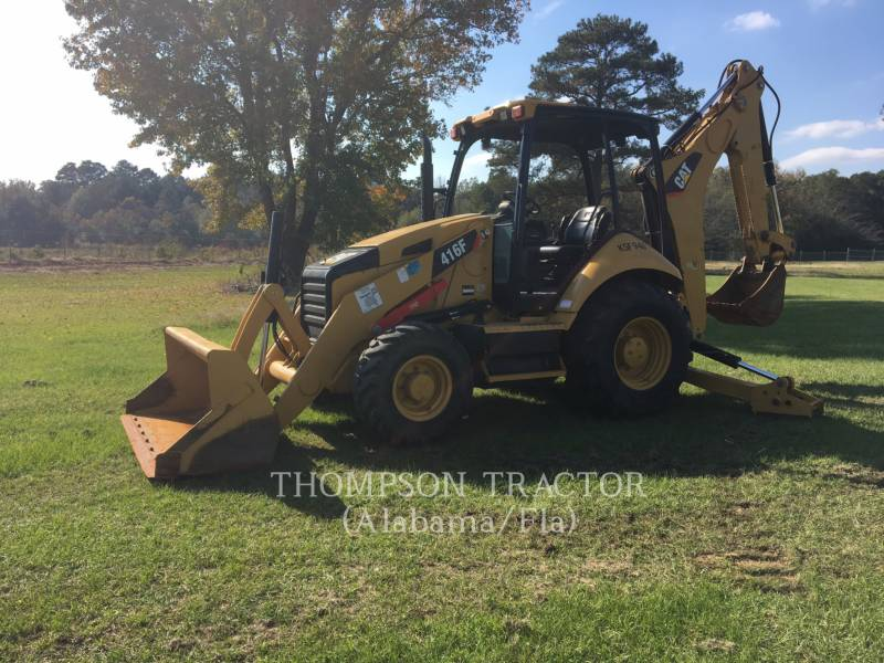 CATERPILLAR BAGGERLADER 416F equipment  photo 12