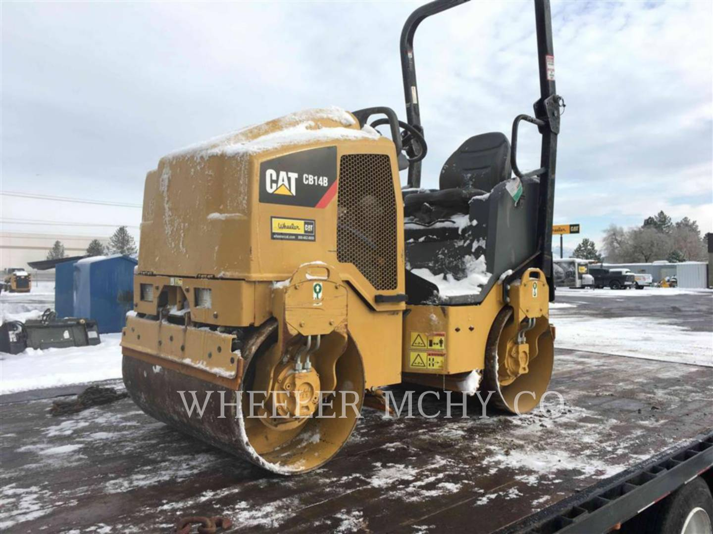 Detail photo of 2014 Caterpillar CB14B from Construction Equipment Guide