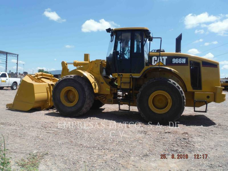 CATERPILLAR CHARGEURS SUR PNEUS MINES 966H equipment  photo 3