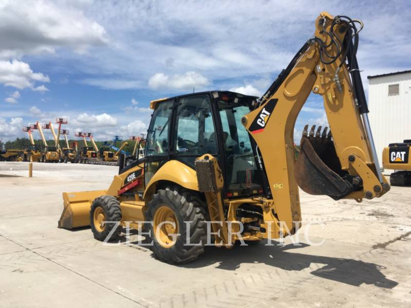 CATERPILLAR RETROESCAVADEIRAS 420E equipment  photo 2