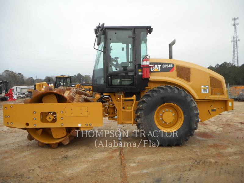 CATERPILLAR COMPACTEUR VIBRANT, MONOCYLINDRE À PIEDS DAMEURS CP54B equipment  photo 9