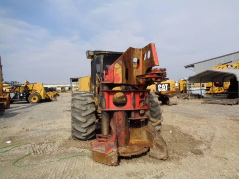 CATERPILLAR FORESTRY - FELLER BUNCHERS - WHEEL 563C equipment  photo 8