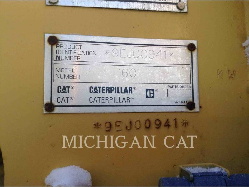 CATERPILLAR MOTONIVELADORAS 160H equipment  photo 6