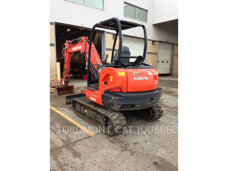 KUBOTA CORPORATION PELLES SUR CHAINES KX040-4 equipment  photo 2