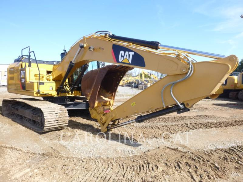 CATERPILLAR KETTEN-HYDRAULIKBAGGER 323FL QC equipment  photo 3