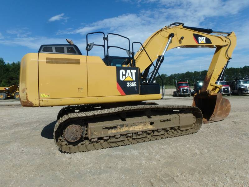 CATERPILLAR TRACK EXCAVATORS 336EL equipment  photo 2