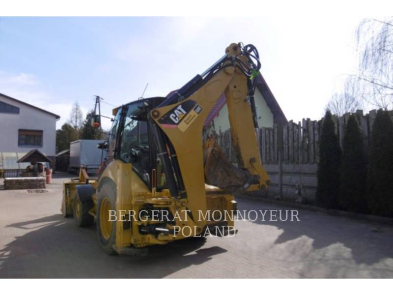 CATERPILLAR CHARGEUSES-PELLETEUSES 428E equipment  photo 5