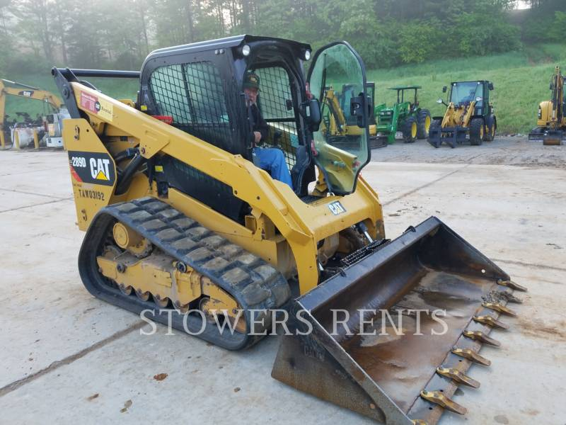 CATERPILLAR MULTI TERRAIN LOADERS 289D CAB equipment  photo 1