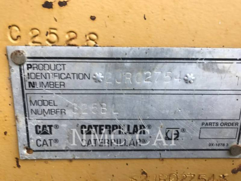 CATERPILLAR PELLES SUR CHAINES 325BL equipment  photo 6