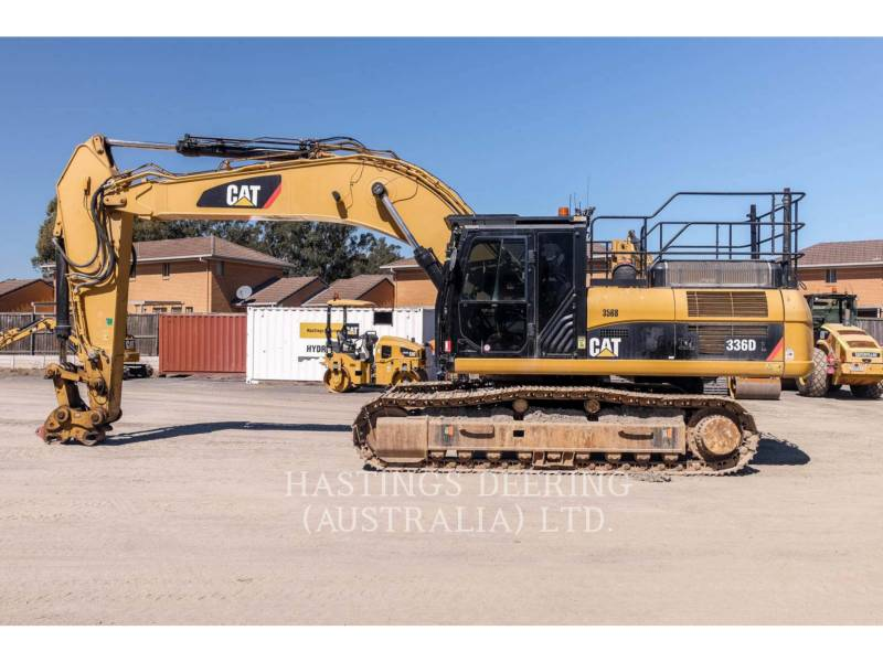 CATERPILLAR EXCAVADORAS DE CADENAS 336DL HS equipment  photo 5