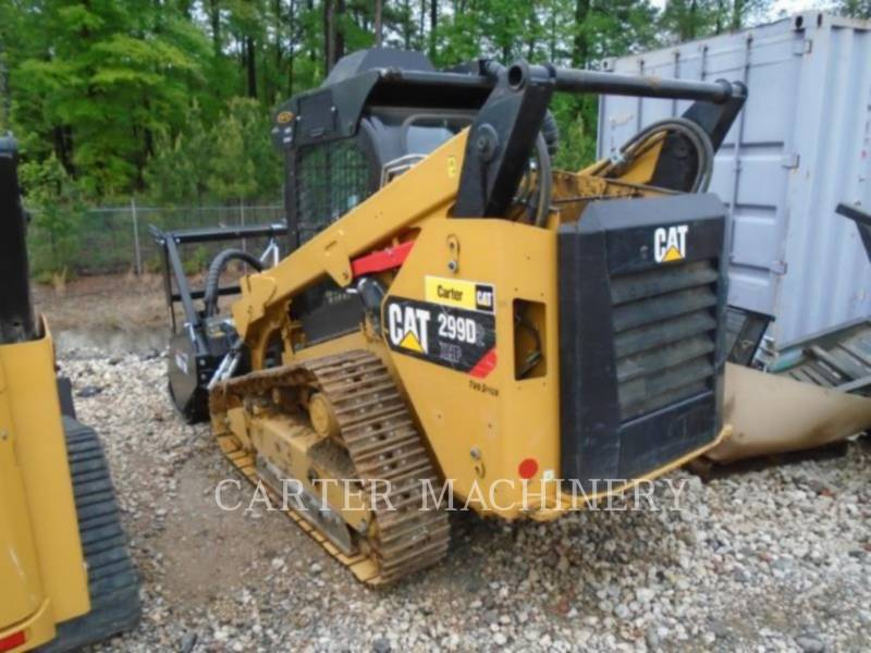 CATERPILLAR SKID STEER LOADERS 299D2 XHPW equipment  photo 3