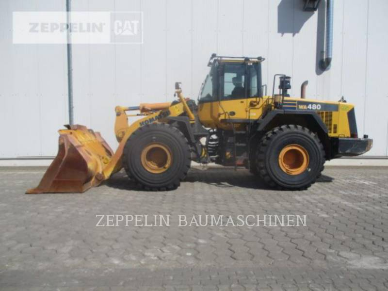 KOMATSU LTD. CARGADORES DE RUEDAS WA480LC-6 equipment  photo 5