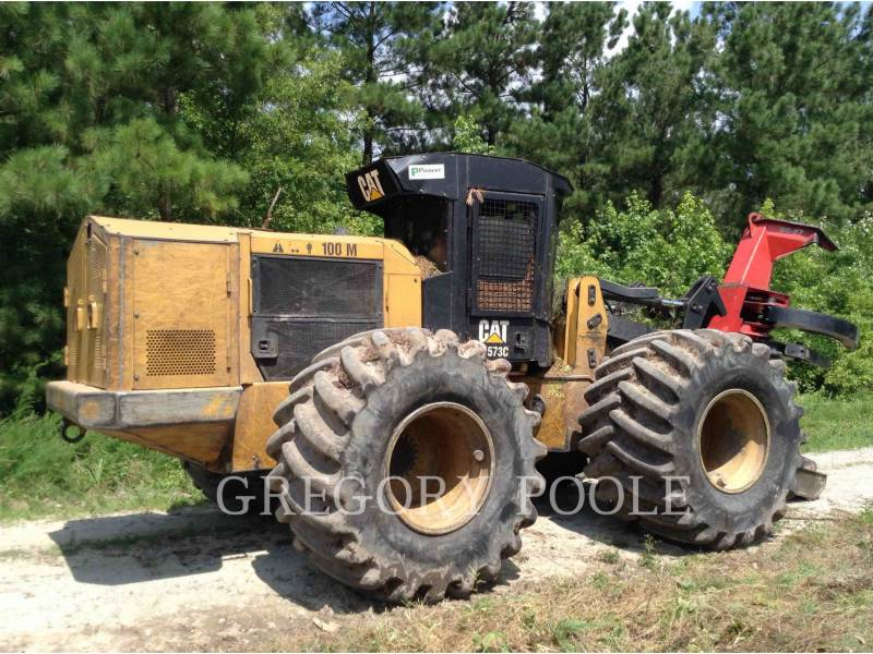 CATERPILLAR FORESTRY - FELLER BUNCHERS - WHEEL 573C equipment  photo 7