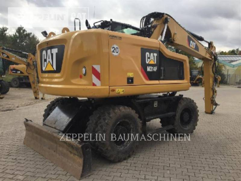 CATERPILLAR PELLES SUR PNEUS M314F equipment  photo 3