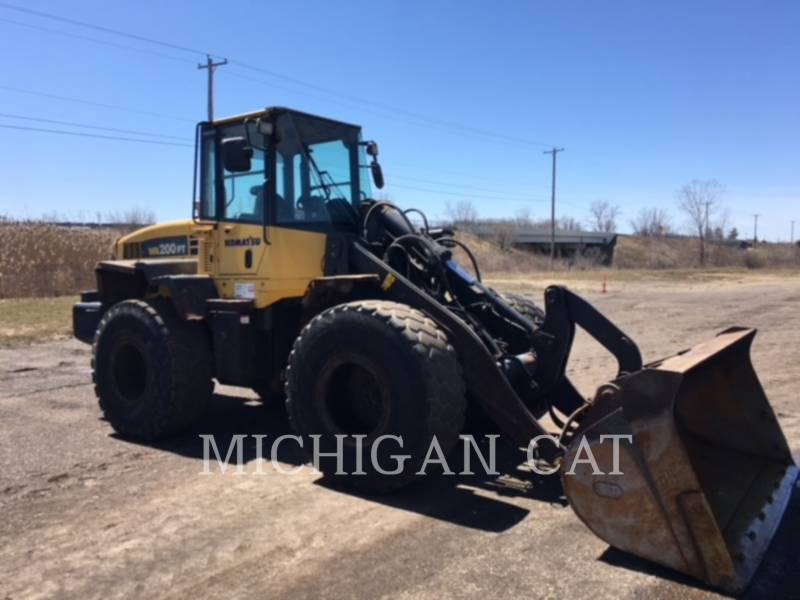 KOMATSU WHEEL LOADERS/INTEGRATED TOOLCARRIERS WA200PT-5 equipment  photo 2