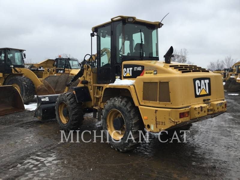 CATERPILLAR WHEEL LOADERS/INTEGRATED TOOLCARRIERS IT14G2 A equipment  photo 3