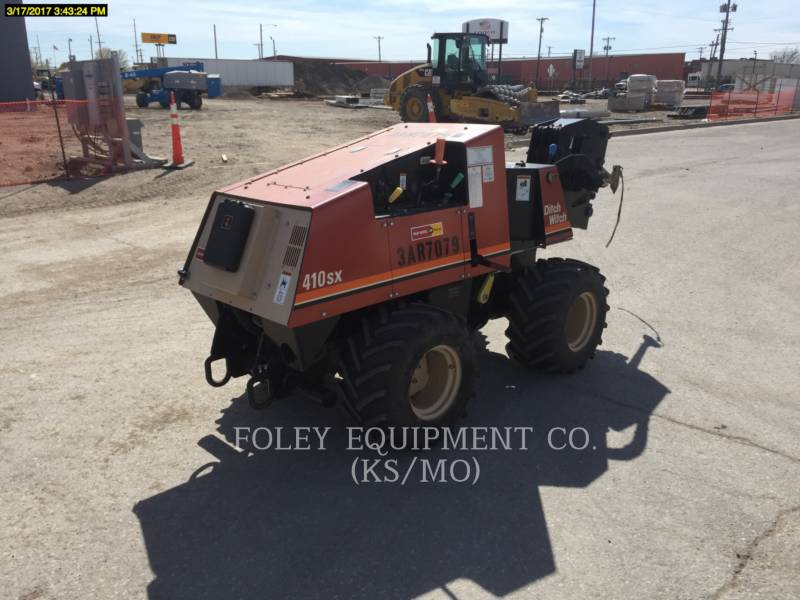 DITCH WITCH (CHARLES MACHINE WORKS) TRENCHERS 410SX equipment  photo 4