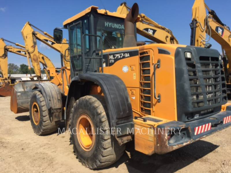 HYUNDAI WHEEL LOADERS/INTEGRATED TOOLCARRIERS HL757-9A XTD equipment  photo 3