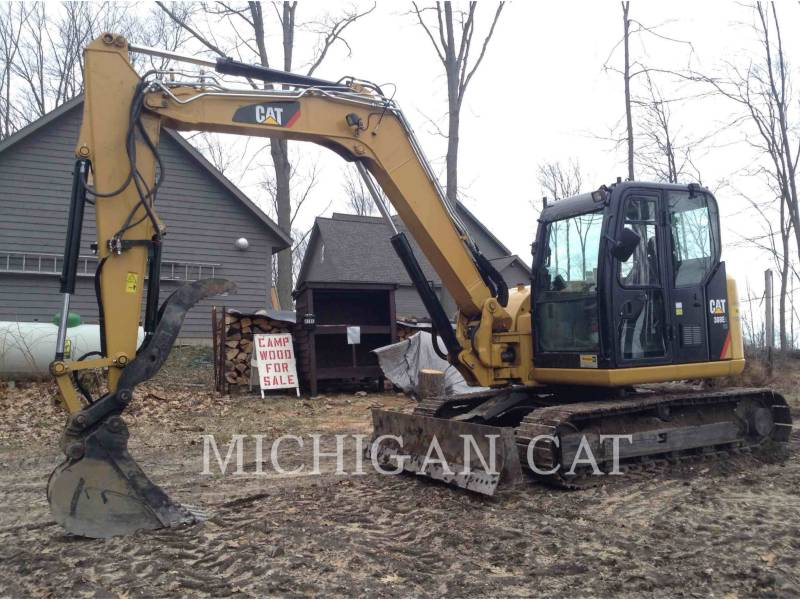 CATERPILLAR TRACK EXCAVATORS 308E2 TQ+ equipment  photo 1
