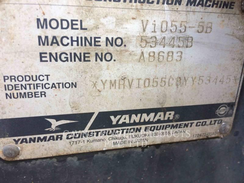 YANMAR TRACK EXCAVATORS VIO 55 - B equipment  photo 2