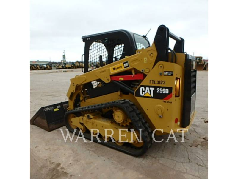 CATERPILLAR CARGADORES DE CADENAS 259D equipment  photo 4