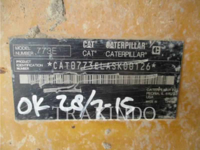 CATERPILLAR MULDENKIPPER 773ELRC equipment  photo 4