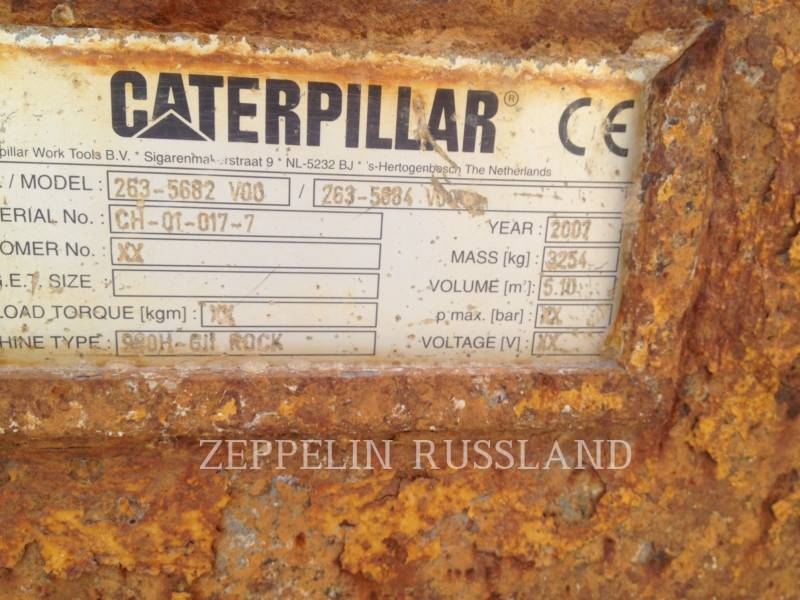 CATERPILLAR WHEEL LOADERS/INTEGRATED TOOLCARRIERS 980H equipment  photo 9