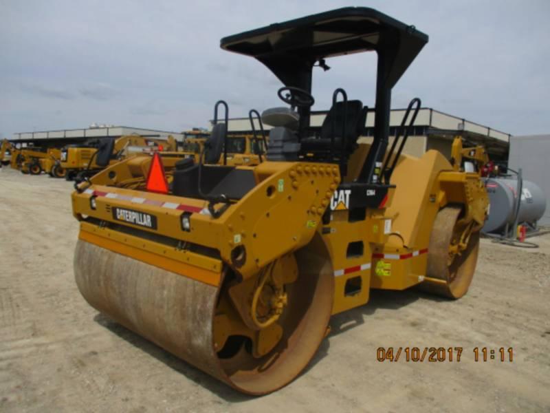 CATERPILLAR TANDEMVIBRATIONSWALZE, ASPHALT CB64 equipment  photo 1