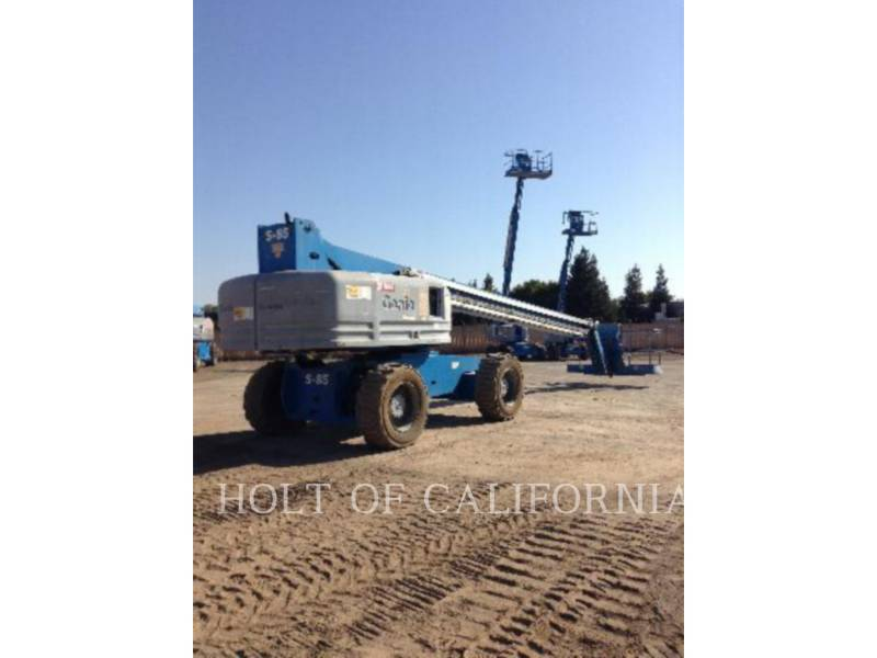 GENIE INDUSTRIES LIFT - BOOM BOOM S85 equipment  photo 3