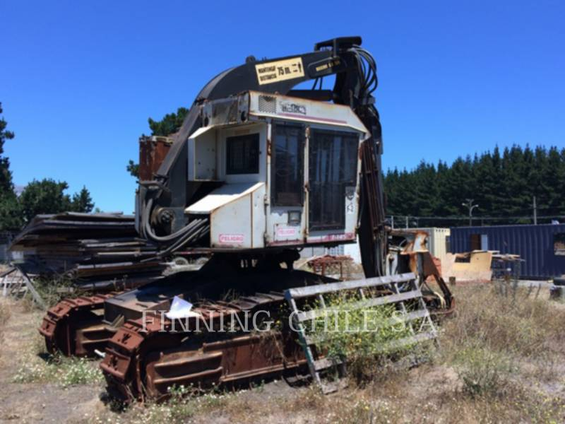 TIMBCO FORESTRY - FELLER BUNCHERS - TRACK T445D equipment  photo 13