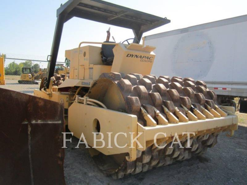 DYNAPAC WT - COMPACTEUR A BILLE VIBRANTE CC50PD equipment  photo 1