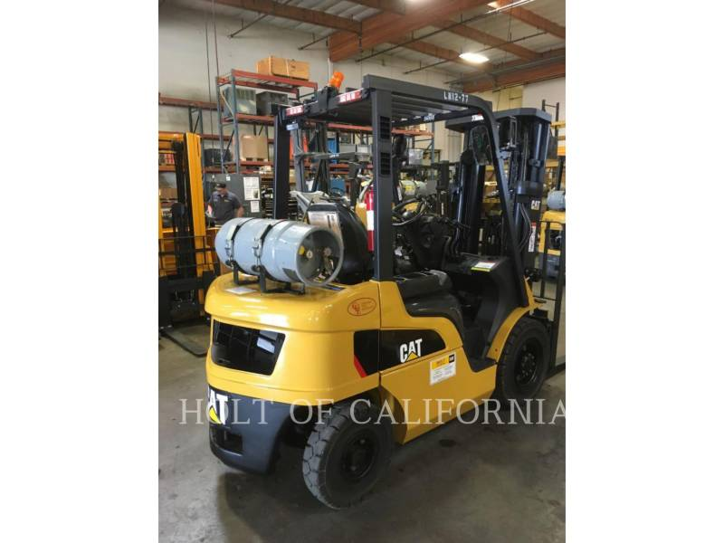 CATERPILLAR MITSUBISHI FORKLIFTS P5000-LE equipment  photo 3