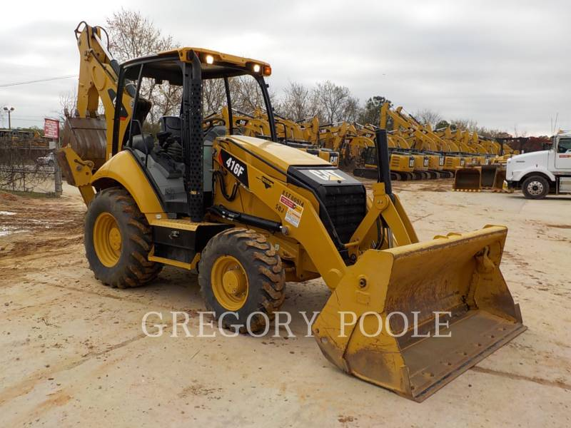 CATERPILLAR RETROESCAVADEIRAS 416F equipment  photo 3