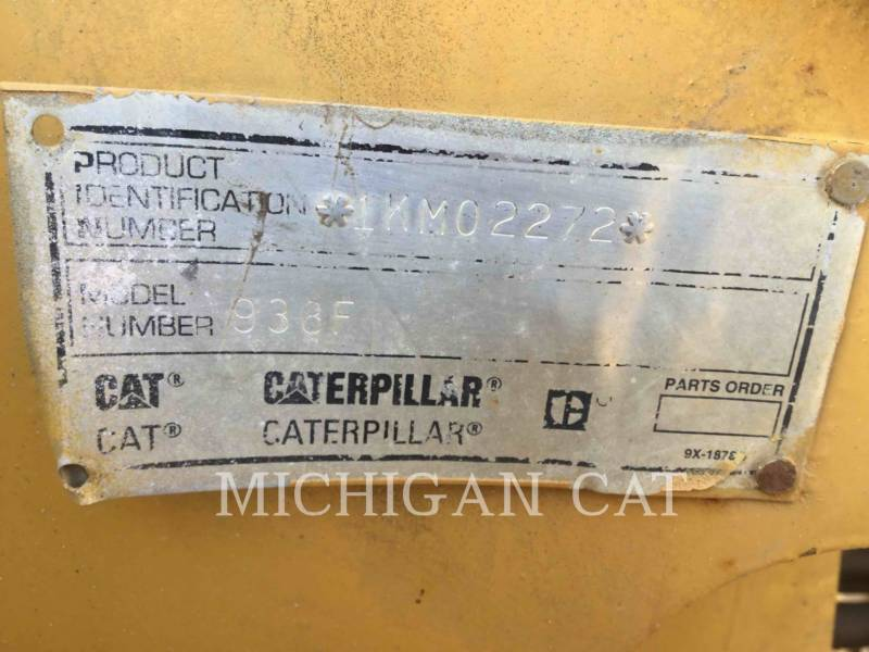 CATERPILLAR WHEEL LOADERS/INTEGRATED TOOLCARRIERS 938F equipment  photo 8