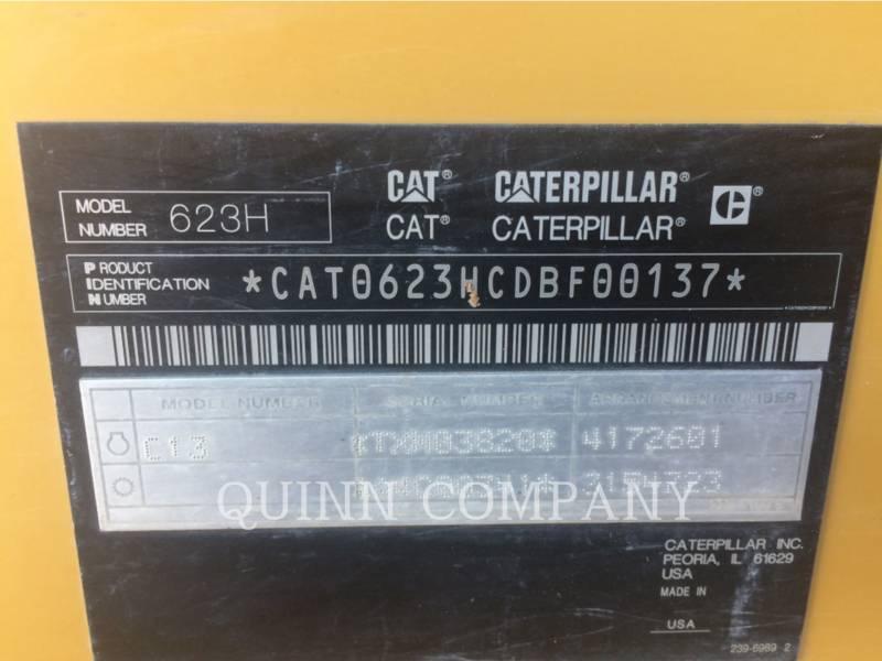 CATERPILLAR DECAPEUSES AUTOMOTRICES 623H equipment  photo 9