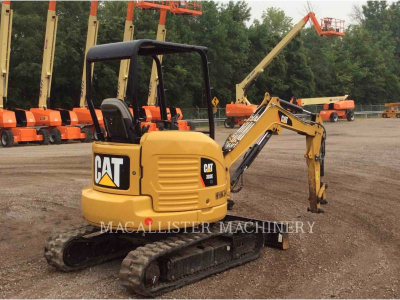 CATERPILLAR TRACK EXCAVATORS 303E equipment  photo 3