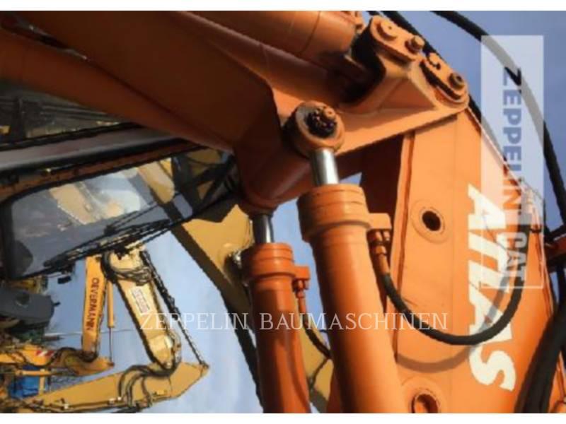 ATLAS WHEEL EXCAVATORS 1304M equipment  photo 17