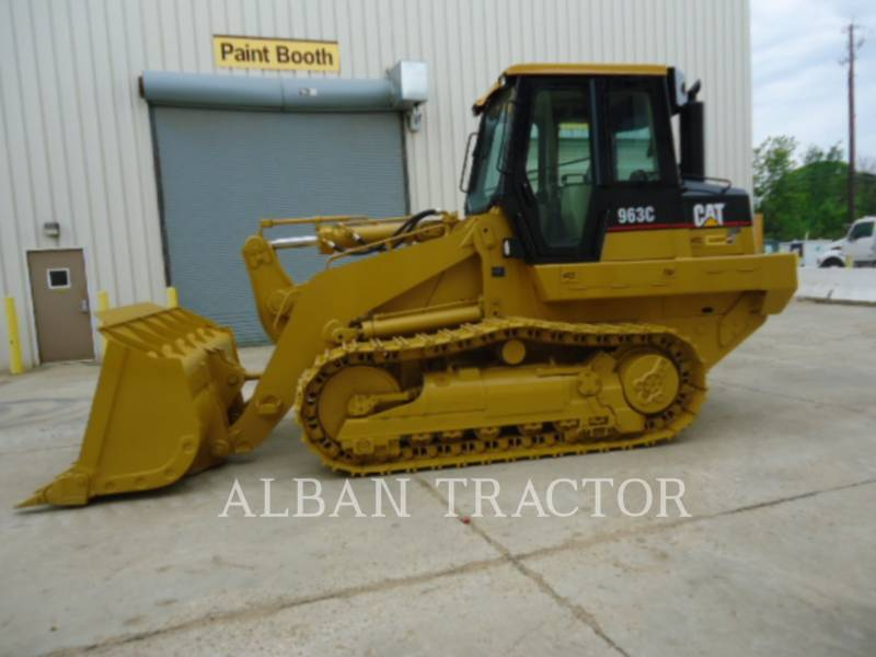 CATERPILLAR TRACK LOADERS 963C CAC equipment  photo 4