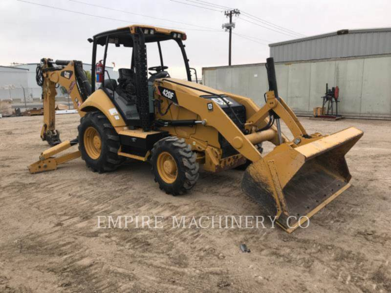 CATERPILLAR BAGGERLADER 420F 4EO P equipment  photo 1