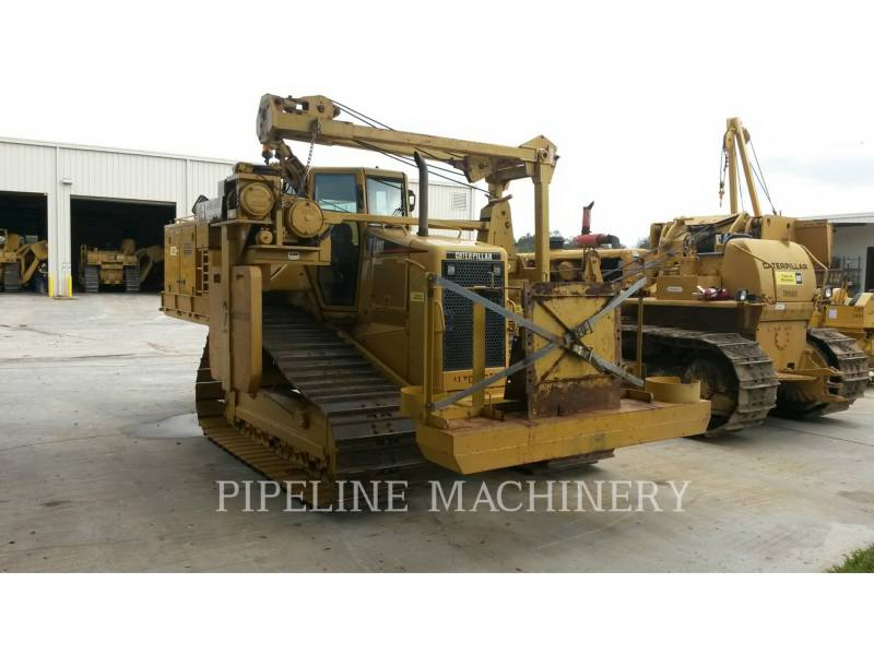 CATERPILLAR TRACK TYPE TRACTORS D6NLGP PPLR equipment  photo 2