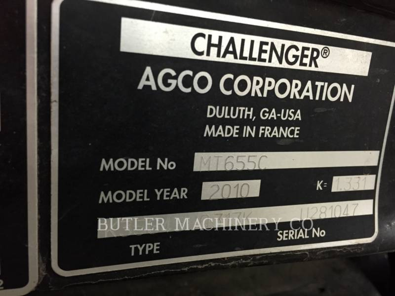 AGCO-CHALLENGER TRACTORES AGRÍCOLAS MT655C equipment  photo 13