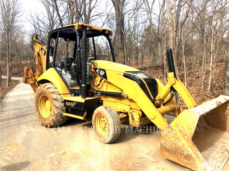 CATERPILLAR CHARGEUSES-PELLETEUSES 416 F equipment  photo 1