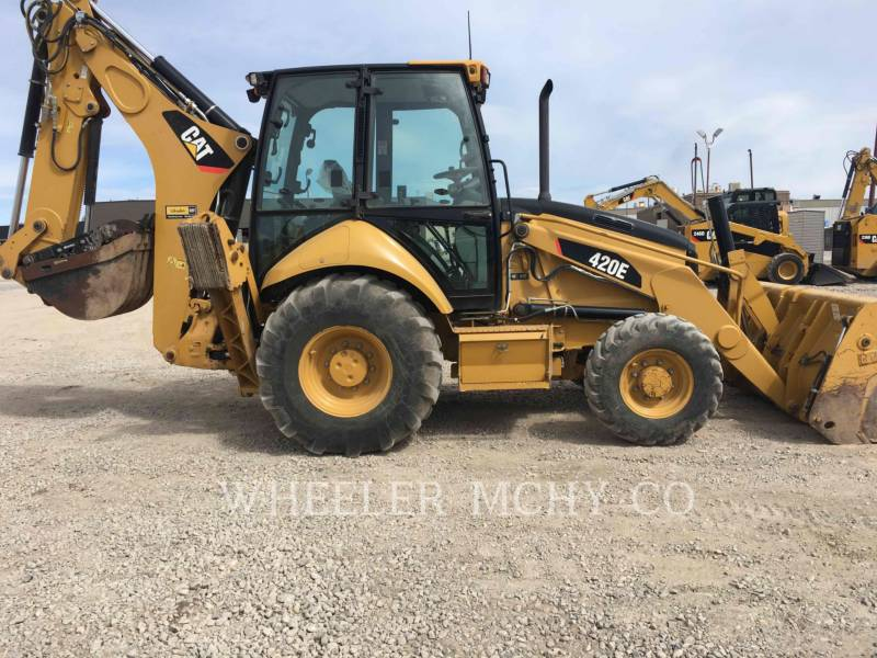 CATERPILLAR BAGGERLADER 420E E THM equipment  photo 1